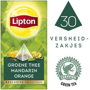 Lipton Exclusive Selection Green Tea Mandarine Orange 30 st