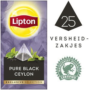 Lipton Exclusive Selection Pure Black Ceylon 25st.