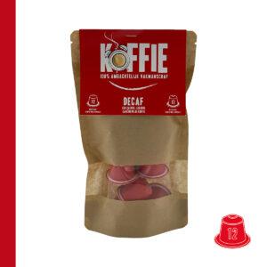 Koffie capsules Decaf 12st Jovado
