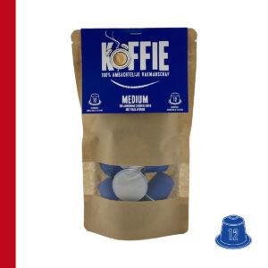Koffie capsules Medium 12st Jovado