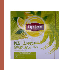 Lipton Thee Green Citrus 100 st
