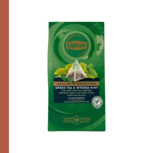 Lipton Exclusive Selection Green Tea & Intense Mint 25st