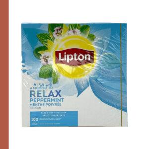 Lipton Thee Munt 100 st