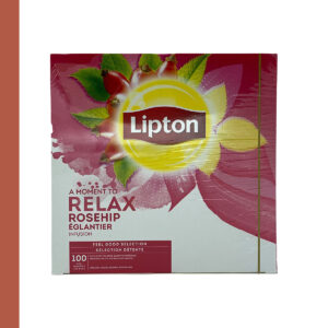 Lipton Thee Rozebottel 100 st
