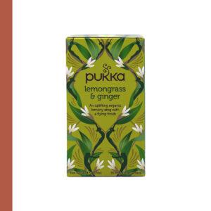 Pukka Bio Lemongrass & Ginger 20st