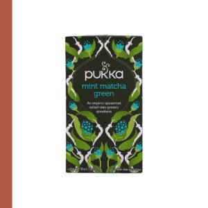Pukka Bio Mint Matcha Green 20st