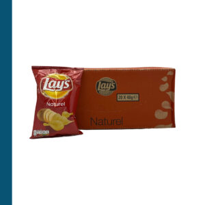 Chips Lay's Naturel 20 x 40 g
