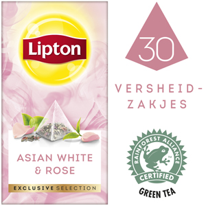 Lipton Exclusive Selection Asian White & Rose 30st