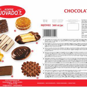 JVD Chocolate Box 360st.